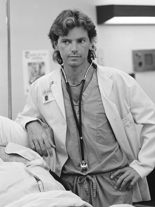 Bruce Greenwood Young as a Doctor