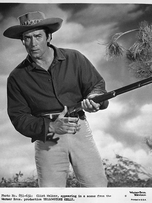 Clint Walker in Yellowstone Kelly