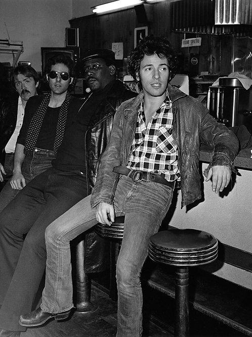 Bruce Springsteen in a Diner