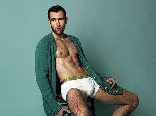 Matthew Lewis Modeling Underwear