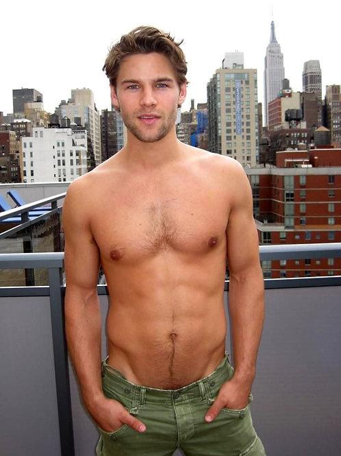 Caleb Halstead on a Rooftop