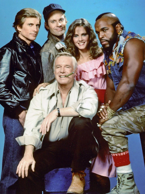 A Team with George Peppard, Dirk Benedict & Dwight Schultz