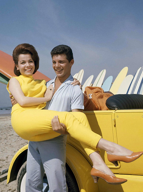 Frankie Avalon Lifting Annette Funicello