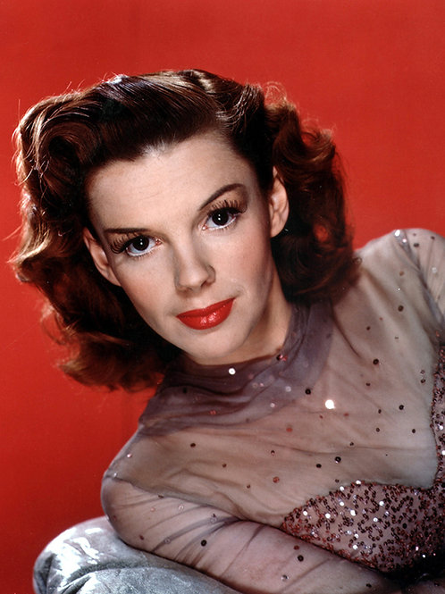 Adult Judy Garland in a Beautiful Portrait