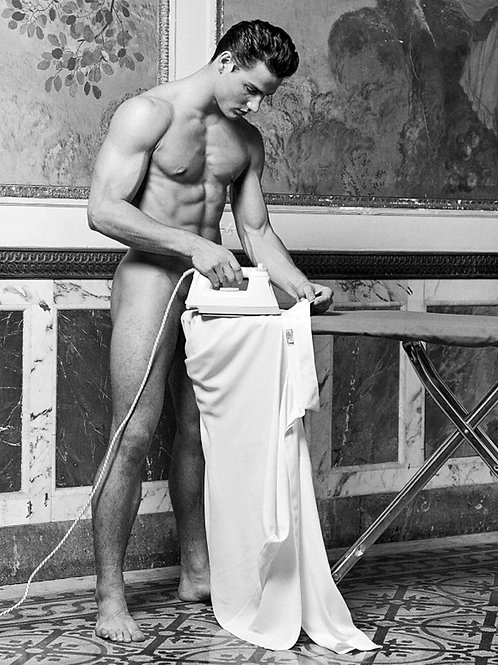 Bruce Weber in Capri for Versace in 1995
