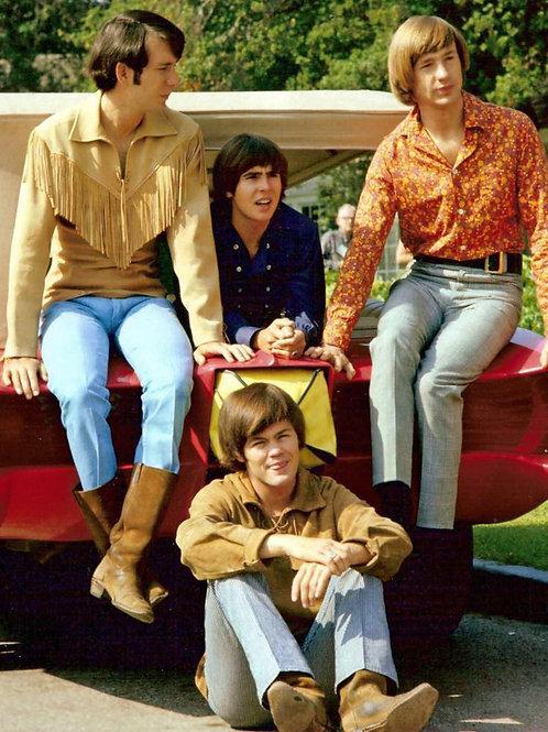 1960s The Monkees Sitting on the Monkeemobile