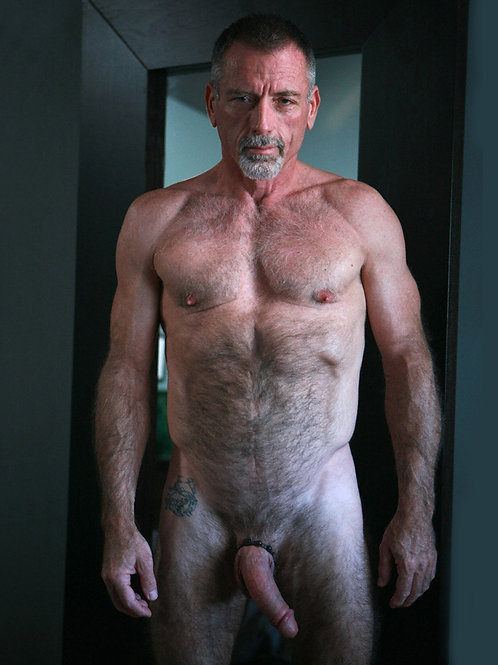 Hairy Daddy with a Small Tattoo