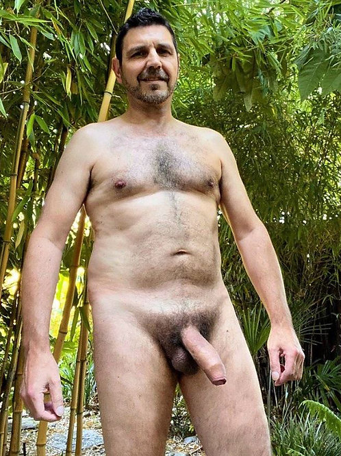 Uncut Bear by the Bamboo