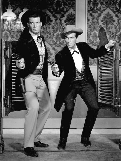 James Garner & Jack Kelly in TVs Maverick from 1959