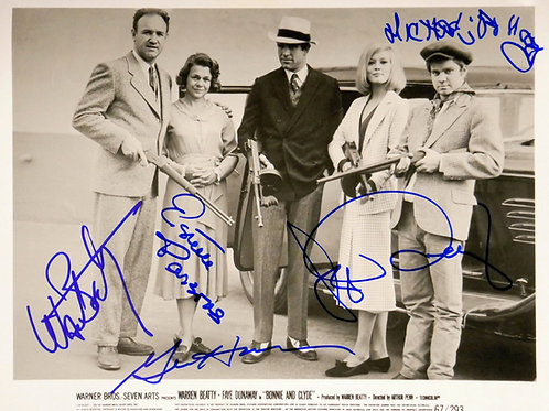 Warren Beatty in Bonnie and Clyde Cast Photo