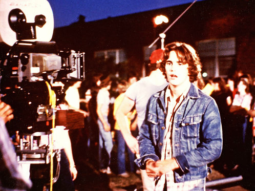 Young Matt Dillon in Denim in Front of the Camera