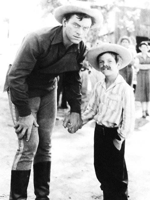 John Ireland with his Son