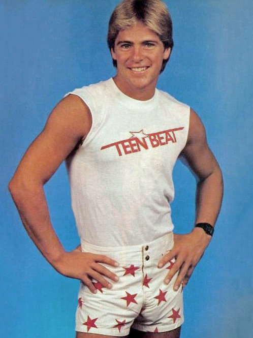 Bruce Penhall Bulging in his Star Studded Shorts