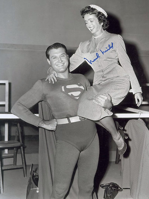 George Reeve With Noel Neill in Superman