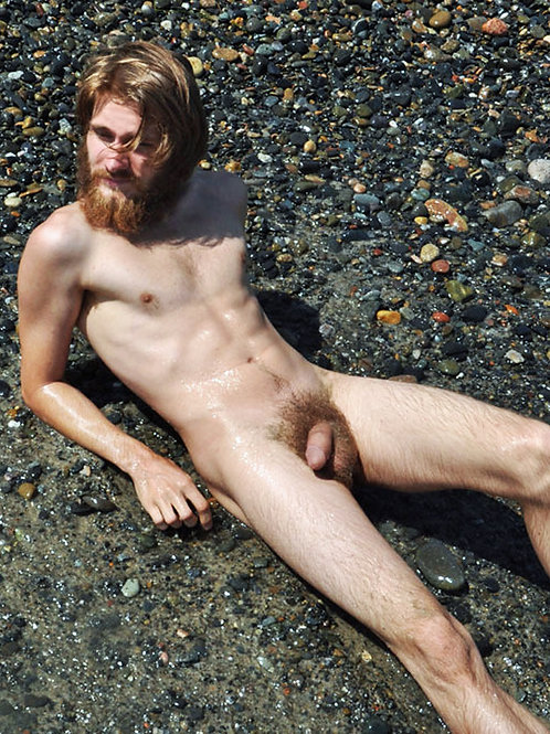 Bearded Man on a Stony Shore