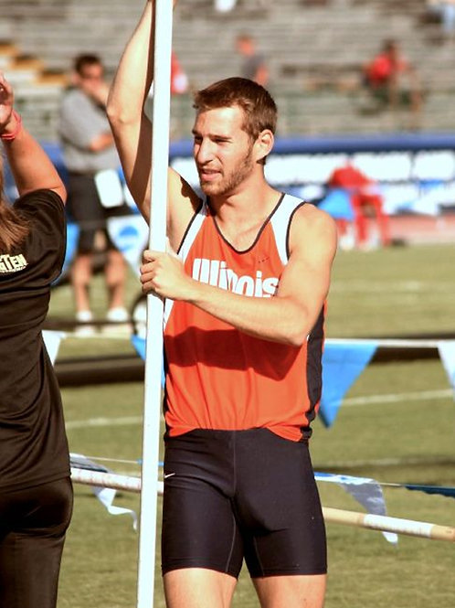 Andrew Zollner Bulging During Track Events