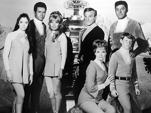 Cast & Robot from Lost in Space