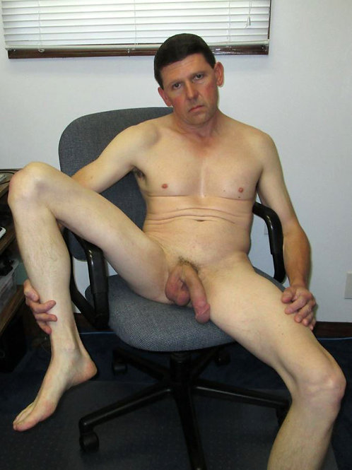 Hung on his Desk Chair