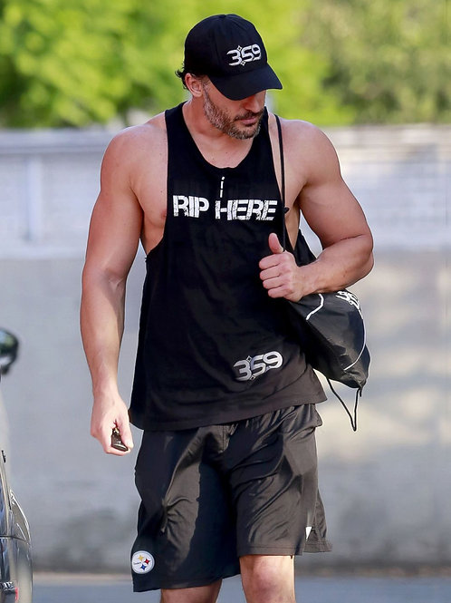 Joe Manganiello Leaving the Gym
