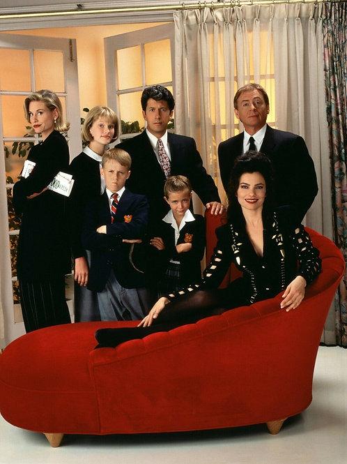 Cast of The Nanny Promo