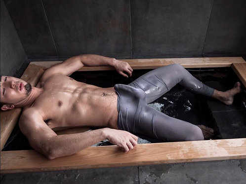 Clinging Wet Tights