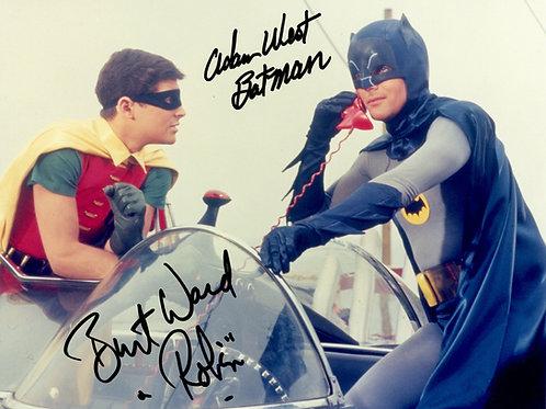 Adam West & Burt Ward