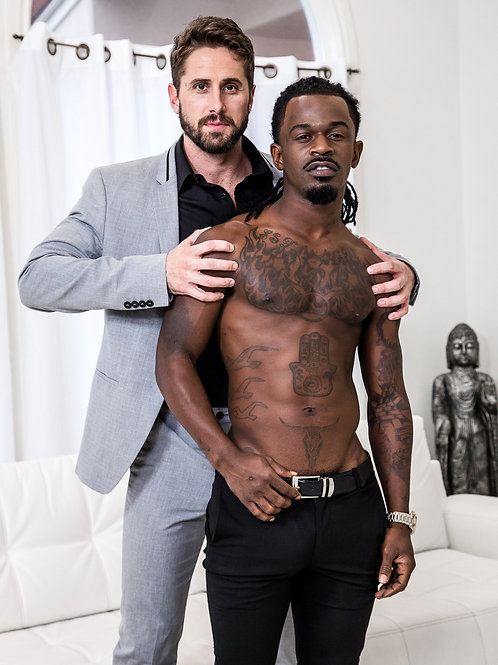 Bearded Executive with his Bulging Buddy