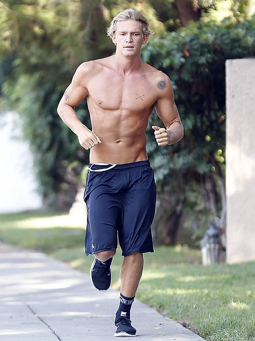 Cody Simpson Jogging