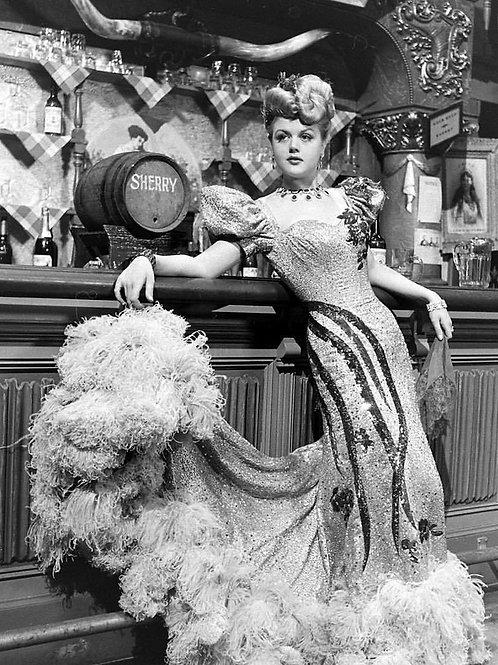 Angela Lansbury as a Bar Maid