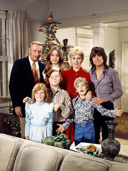 David Cassidy & The Cast of the Partridge Family at Christmas