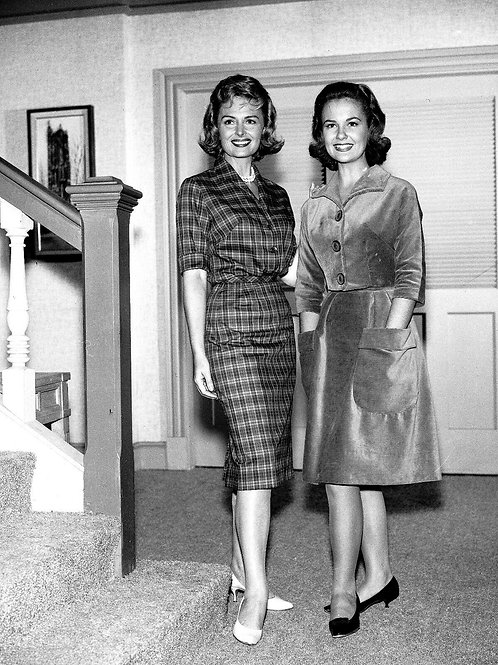 The Donna Reed Show Shelley Fabares & Donna Reed