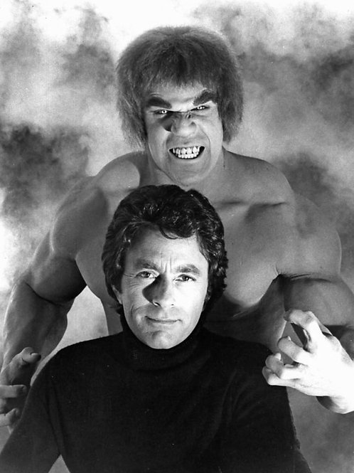 Bill Bixby & Lou Ferrigno in a Promo for the Hulk