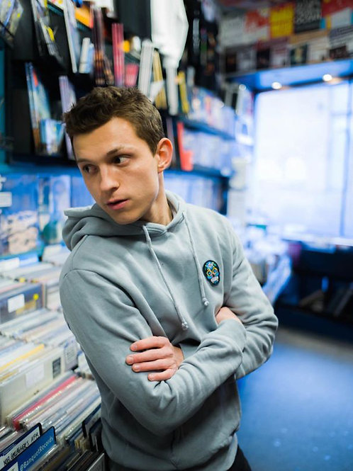 Tom Holland in a Store