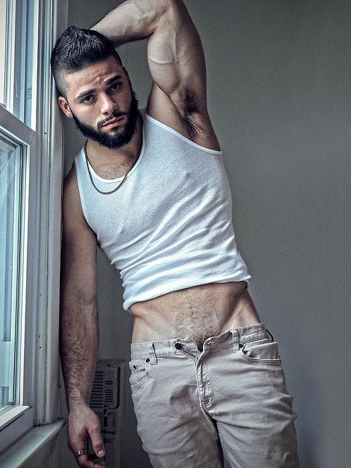 Alexe Restivo by a Window