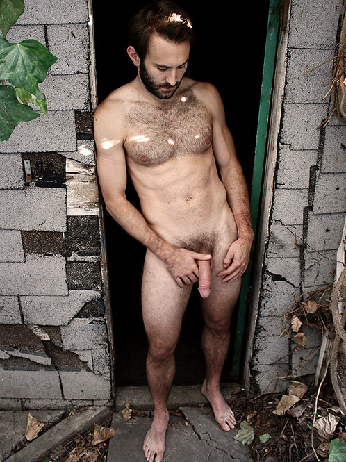 Standing by an Old Doorway