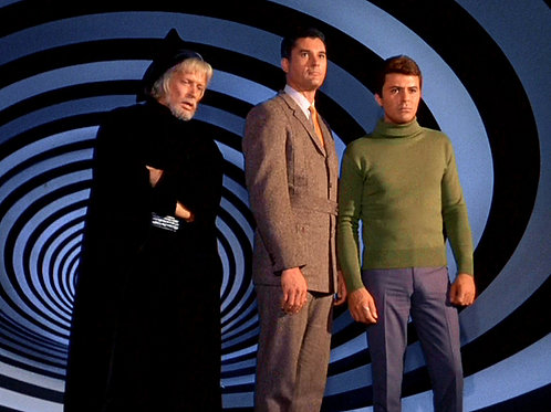 Bulging James Darren in the Time Tunnel