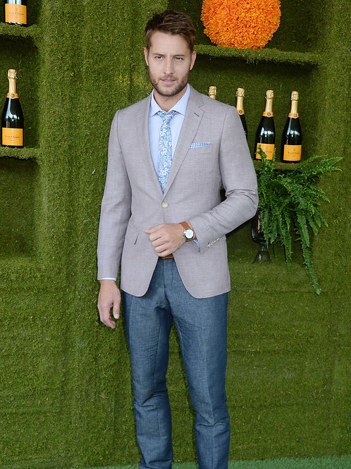 Justin Hartley at the Veuve Cliquot Polo Classic