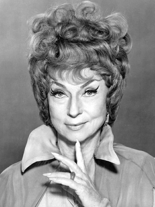 Agnes Moorehead As Endora in the TV Show Bewitched in 1969