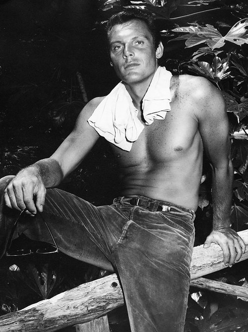 Shirtless & Young Adam West