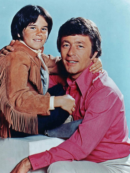 Bill Bixby & Brandon Cruz in a Promo for The Courtship of Eddie's Father