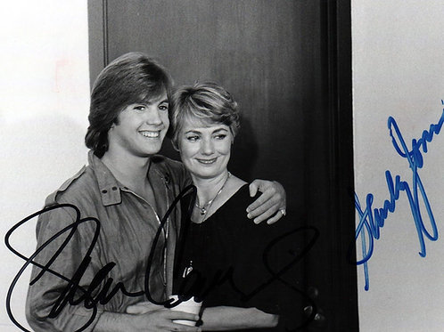 Shaun Cassidy Hugging Shirley Jones