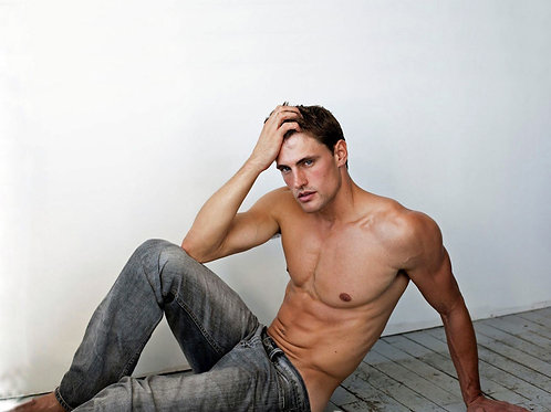 Chet Corey Shirtless in Jeans