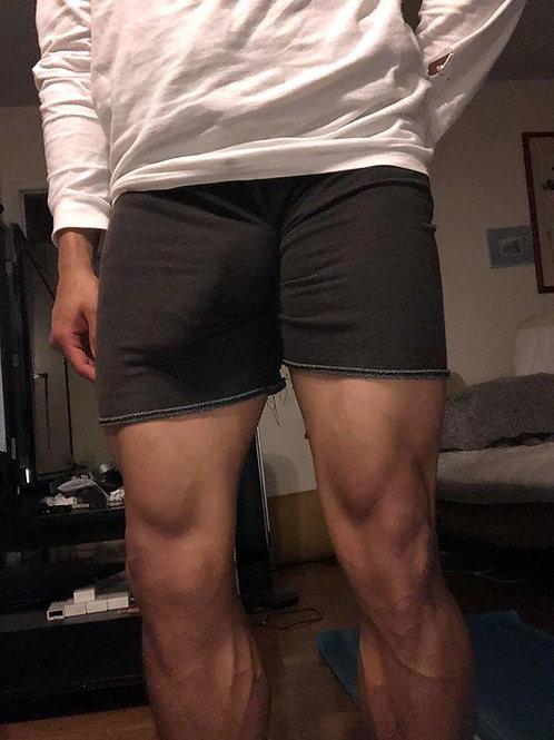 Overstuffed Black Shorts