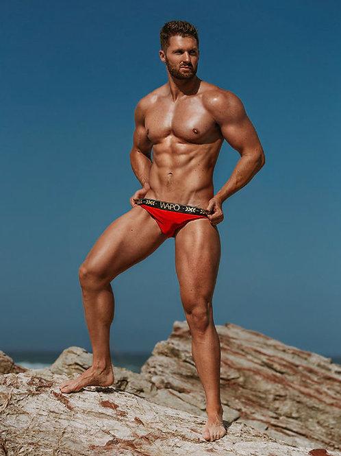 Cameron Beasley On a Rock