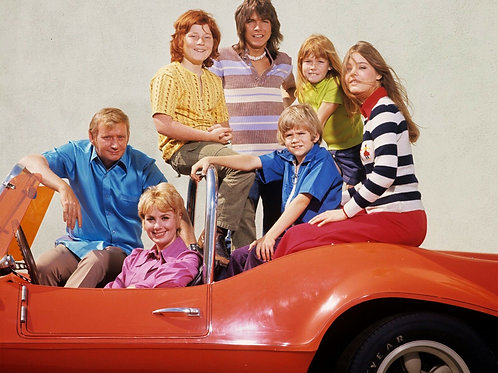 The Partridge Family in a Dune Buggy