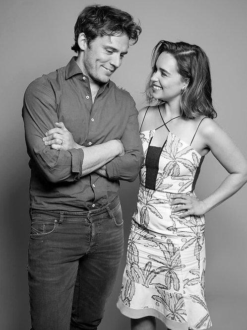 Sam Claflin With Emilia Clark