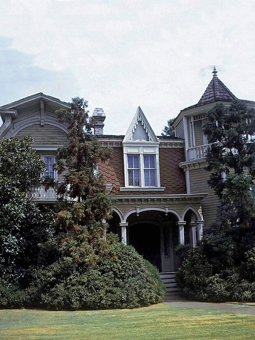 Munsters House as Seen in 1969