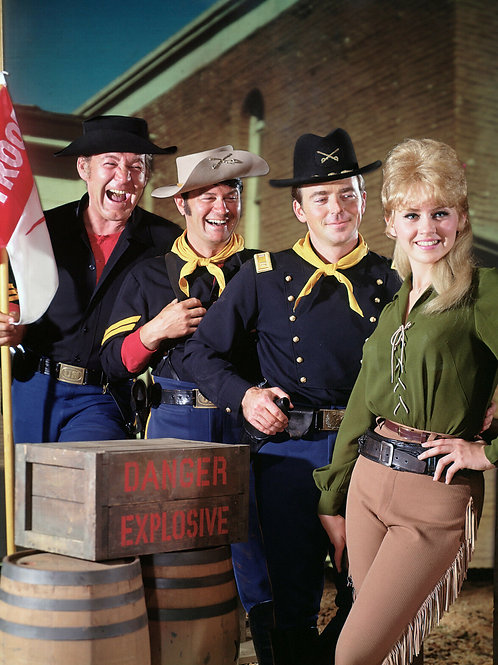 Cast of TV's F-Troop