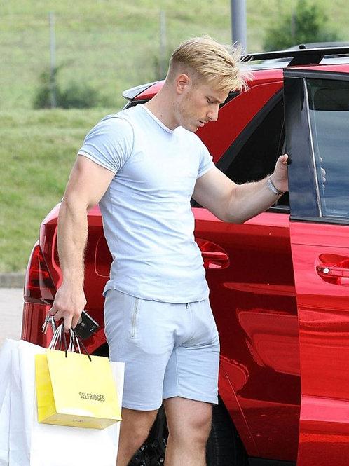 Kris Boyson Opening his Car Door
