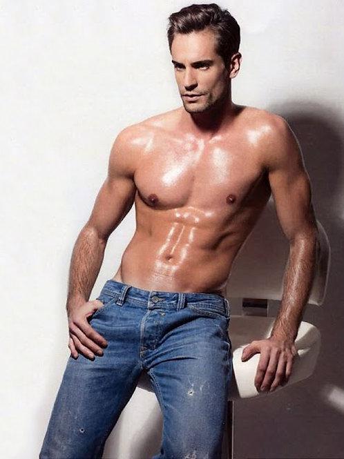Antonio Lujak Shirtless
